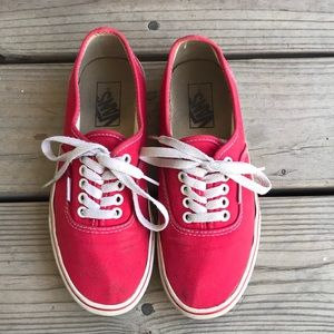 Red Classic Vans